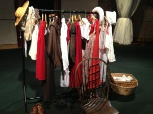 Costume rack