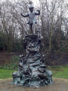 Peter Pan Statue, Kensington Garden