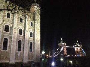 The Tower of London and London Bridge