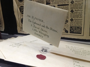 Harry Potter's Hogwarts letter