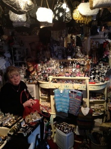 Angie in her shop